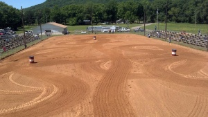 Barrel racing ground!