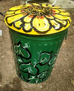 Finished trash can!