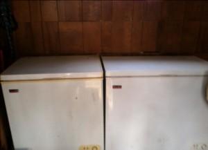 2 freezers