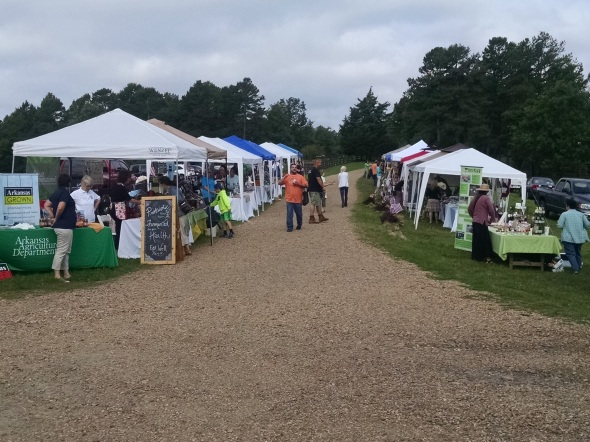 Arkansas Farmer's Market at Moss Mountain Farm