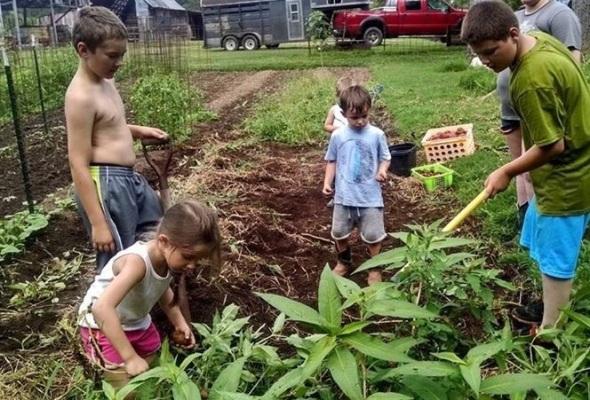 Tator digging fun!